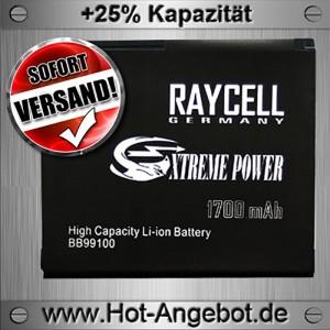 Handyakku 1700mAh +25%  RAYCELL BB99100 für HTC A8181 A8183 Bravo Desire Google Nexus One