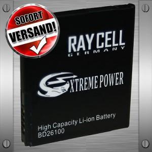 Handyakku 1530 mAh +25%  RAYCELL BD26100 BA-S470D für HTC A9191 Ace Desire HD NEU TOP