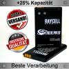 Handyakku RAYCELL BL-5C 1320 mAh für NOKIA 6030 6230 6230i 6680 C2 E50 N70 N91 und DVR, Kameras u.v.m.