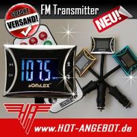 FM Transmitter MP3 Player Radio Sender