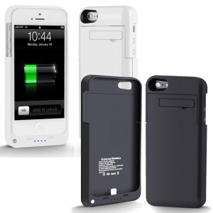 Akku 2200mAh iPhone 5  5S Power Case Ladestation Extern