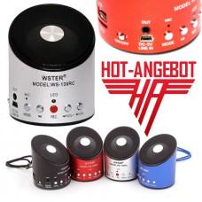 Externer Lautsprecher MP3-Player Radio Rekorder Mikrofon USB micoSD