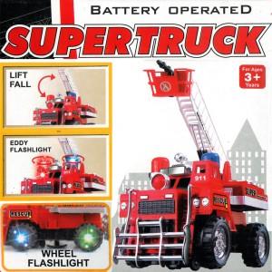 Feuerwehrauto Einsatzwagen Licht Sound Motor Leiter