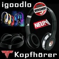 "igoodlo ""best sound"" Stereo Kopfhörer On-Ear 3,5mm Stecker Dolby Sound  Audio"