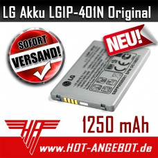 Original LG Handy Akku LGIP-401N  f. Touch LN510 Rumor Touch VM510 LN510 E720