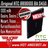Original HTC BA S420 Akku Accu für HTC Legend Buzz Wildfire G8 1300 mAh