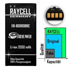 Handyakku RAYCELL EB-BG900BBC 3350mAh für Samsung Galaxy S5 I9600 GT-i9600 SM-G900F