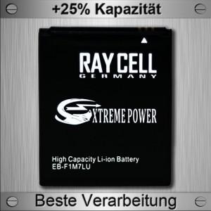 Handyakku RAYCELL EB-F1M7FLU EB425161LU 1800mAh +25% Samsung Galaxy S3 mini, Ace II 2