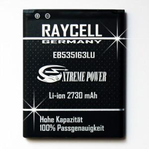 Handyakku 2730mAh +25% RAYCELL EB535163LU für Samsung Galaxy Note 2 II mini GT-I9128V u.a.