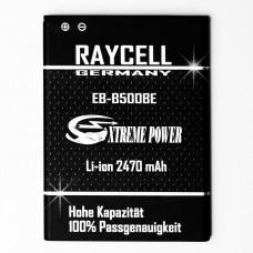 Handyakku 2470mAh +25% RAYCELL EB-B500BE  für Samsung Galaxy S4 mini GT-i9190