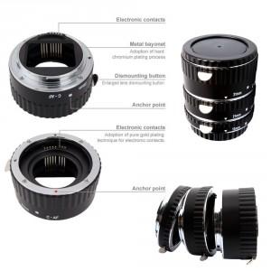Makro AF Zwischen-Ringe Canon EOS EF/AF 700D 650D 600D 550D 500D 450D 1D 5D usw