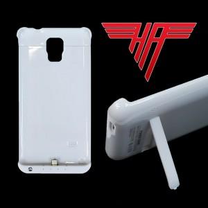 5000mAh Externer Power Akku Samsung Note 4 Note4 Zusatz Batterie Ladestation