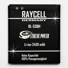 2450mAh +25% Akku RAYCELL BL-53QH LG Spectrum 2, Optimus L9 LTE 2 LTE II u.a.