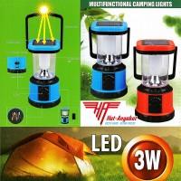 LED Solar Camping Laterne Zeltlampe Sturmlampe Leuchte Akku Ladegerät USB TOP!