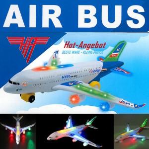 Elektrisches Spielzeug Flugzeug Airbus XXl A380 Sound Licht Airlines 44cm TOP !!