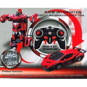 Transformer Auto Rennauto Lamborghini Robot Fernbedienung