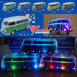 VW T1 Bluetooth Lautsprecher Box Radio Speaker Wireless Kabellos LED Akku