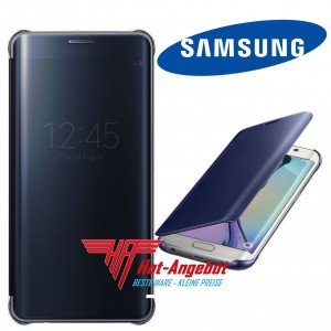 Original Samsung Galaxy S6 Edge+ Plus Clear View Cover Case Hülle