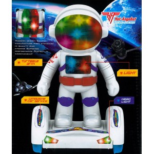 Elektrisches Spielzeug Astronaut Motor Sound Musik Licht Light 27cm Space Flyer