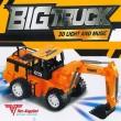 Bagger Eimer Löffel Elektrisches Spielzeug Fahrer Motor Sound Licht Traktor