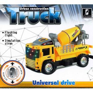 Elektrisches Baufahrzeug Betonmischer Truck Auto Licht Musik Sound Effekte