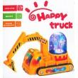 Bagger Digger Brunnen echtes Wasser Elektrisches Spielzeug mit Motor Sound Licht