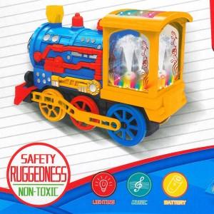Lokomotive Brunnen echtes Wasser Elektrisches Spielzeug Sound Licht Fun Train