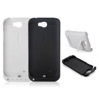 Akku Power Case Ladestation Batterie 4200mAh Samsung Galaxy NOTE 2 weiß schwarz