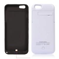 Akku 3200mAh iPhone 6 Power Case Ladestation Extern Batterie Power USB