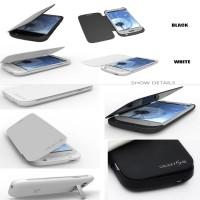 3200mAh Externer Power Akku für Samsung Galaxy S3 SIII Batterie Ladestation
