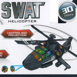 Hubschrauber Militärhubschrauber Spielzeug mit Projektor Motor Licht Sound Fährt