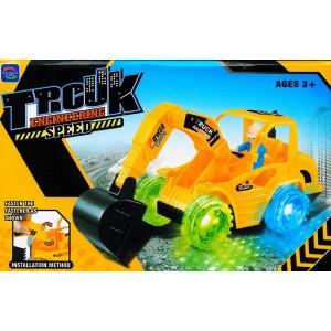 Spielzeug Bagger Digger Excavator Elektrisches mit Motor Sound Licht Fahrer