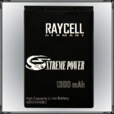 Handyakku RAYCELL AB553446BU 1300mAh für Samsung B2100 C3300 C5212 E1110 E1130 M110  u.a.