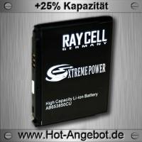 Handyakku RAYCELL AB653850CU 1740mAh  für Samsung i900 Omnia 2 i7500 Galaxy i8000