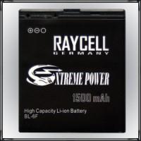 Handyakku RAYCELL BL-6F 1500 mAh +25% Kapazität  für Nokia N78 N79 N95 8GB