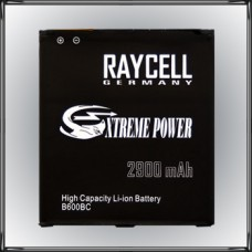 Handyakku RAYCELL B600BC 2900mAh für Samsung Galaxy S4 I9500 I9505 LTE +25% Kapazität