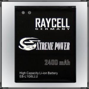 Handyakku RAYCELL EB-L1G6LLU 2400mAh für Samsung Galaxy S3 SIII i9300 LTE i9305  NFC  LTE