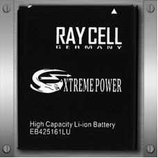 Handyakku RAYCELL EB425161LU 1800 mAh  für SAMSUNG I8160 GALAXY ACE 2 I8190 GALAXY S3 MINI