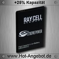 Handyakku RAYCELL EB504465VU 1800maH für Samsung  i8910 HD i8700 Omnia 7 HD B7620 Armani