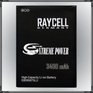 Handyakku RAYCELL EB595675LU 3400 mAh f. Samsung Note 2 II LTE N7105 N7100