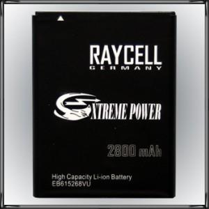 Handyakku RAYCELL EB615268VU 2800 mAh für Samsung N7000 GT-N7000 i9220 GT-i9220 u.a