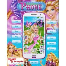Barbie Pop Star Princess SmartPhone Handy Spielzeug Touch Screen Musik Aufnahme