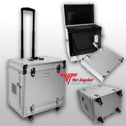 WALTER Profi Fußpflegekoffer Model 2020 Kosmetik Koffer Trolley