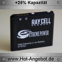 hhandyakku RAYCELL LGIP-570A 1200 mAh  für LG KC550 KC780 KF700 KP500 REINA COOKIE