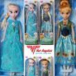 Puppe Anna oder Elsa aus dem Film Eiskönigin Frozen Disney 36cm hoch 1 Stk. NEU