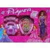 Wunderschöne Mode Puppe Set Prinzessin echter Player + Kopfhörer 3 CD Pop Musik
