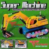 Bagger Digger Elektrisches Spielzeug mit Motor Sound Licht Bewegt sich von alleine