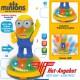 Minions Elektrisches Spielzeug mit Bewegung Motor Sound Licht Musik 22cm