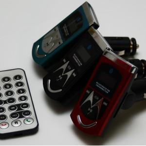 Bluetooth FM Transmitter MP3 Player Radio Sender Spielt von SD, USB ab