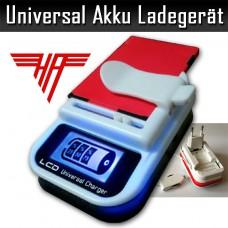 Universal Handyakku Ladegerät LCD USB KFZ